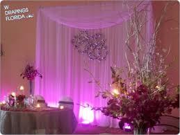 wedding anniversary backdrop lorene s custom chiffon backdrop summer wedding reception at