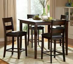 kitchen alluring high kitchen table set bar height dining