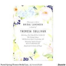 bridesmaid luncheon invitations bridal luncheon invitations as well as pastel flowers