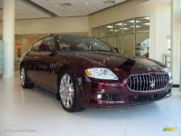 2009 Bordeaux Pontevecchio Dark Red Maserati Quattroporte