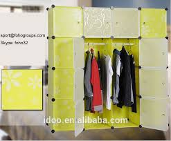 diy garderobe eco friendly material with pp plastic wardrobe garderobe in india