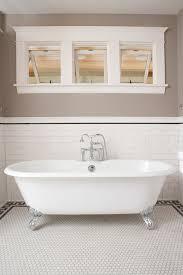 Tile Around Bathtub Shabby Chic Bathroom Country Bathroom Country Living