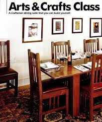 Arts And Crafts Dining Room Furniture Uncategorized Arts And Crafts Dining Room Furniture Inside