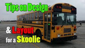 designing a layout for a skoolie bus conversion youtube