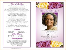 funeral program designs 6 funeral program template free authorizationletters org
