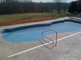 fiberglass swimming pool paint color finish sapphire blue 31
