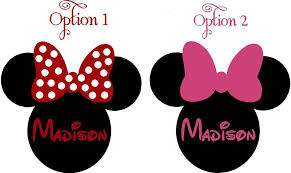 minnie mouse ears free clip free clip on