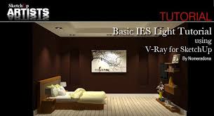 ies lighting handbook recommended light levels basic ies light tutorial using v ray for sketchup sketchup 3d
