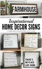 signs and decor inspirational home decor signs rustic and modern