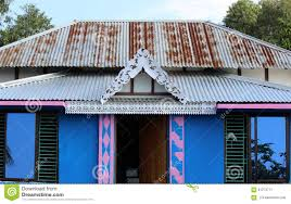 wooden house in bangladesh stock photo image 61273771