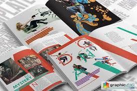 indesign magazine template creativemarket 21141 free download