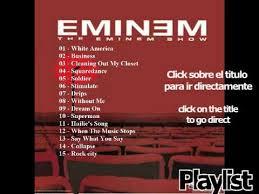 Eminem Playlist   eminem the eminem show new playlist new 2014 youtube