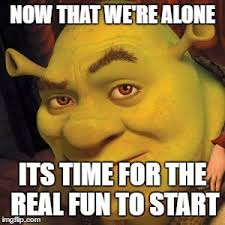 Sexy Time Meme - shrek sexy face latest memes imgflip