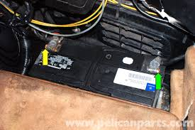 mercedes benz r129 battery removal sl500 sl320 sl600 1990