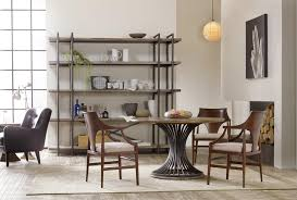 Dining Room Console by Hooker Furniture Studio 7h Geo Trestle Dining Table With X