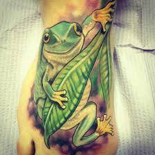 30 amazing frog tattoos and designs
