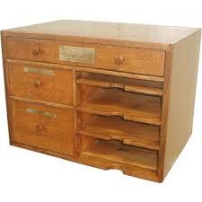 Vintage Desk Organizers Desk Set Ruby