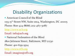 National Federation Of Blind By Alaina Larson Blind What Is It Blindness Is The Condition