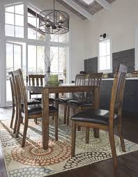 Ashley Furniture Kitchen Table Sets Puluxy Dining Room Table Set 7 Cn Corporate Website Of Ashley
