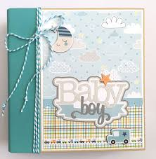 baby boy scrapbook album artsy albums mini album and page layout kits and custom designed