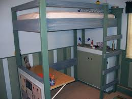 Free Plans For Loft Beds With Desk by College Loft Bed Plans Bed Plans Diy U0026 Blueprints