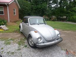 volkswagen buggy convertible volkswagen beetle vw electric powered beetle convertible silver bug