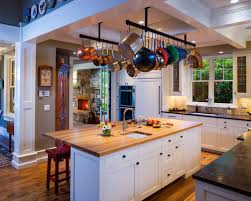 kitchen island pot rack hanging pot rack houzz