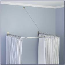 L Shaped Shower Curtain Rod Oil Rubbed Bronze L Shaped Shower Curtain Rod Target Curtain Home Decorating
