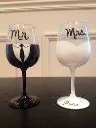 wine glasses for wedding stunning diy wedding wine glasses 1000 ideas about wedding wine