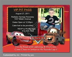 fourth of july birthday invitations cars birthday invitation lightning mcqueen invitation cars