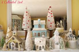 Glitter Home Decor My Christmas Glitter House Mantel A Cultivated Nest
