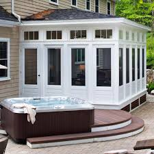 Sunrooms For Decks Sunroom Designs U2013 Custom Sunroom And Deck Combination Archadeck