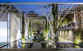 gallery of vegetable trellis cong sinh architects 8