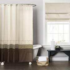 Green And Brown Shower Curtains Lush Decor Green Brown Shower Curtain Free Shipping On