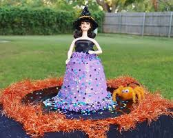 Vintage Kitchen Witch Doll by Easy Pillsbury Funfetti Halloween Doll Cake Kelli U0027s Kitchen