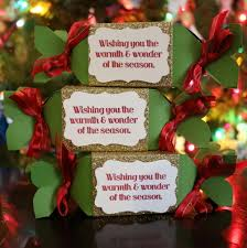 christmas table favors to make how to make christmas candy box party favors the crafty stalker