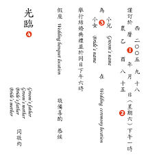 Wedding Invitation Card Format In Kalo Make Art Bespoke Wedding Invitation Designs Chinese Wedding