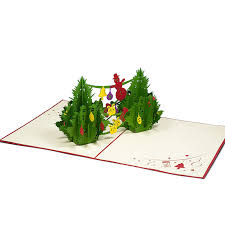 tree pop up card custom pop up card supplier charm pop berlin