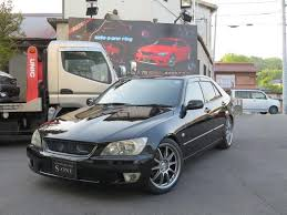 altezza car black toyota altezza rs200 limited 2003 black 88 000 km details