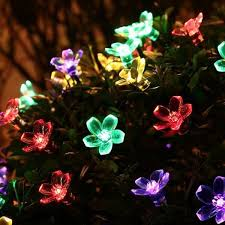 blossom flower solar garden lights apollobox