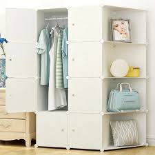 online shop high quality modern simple wardrobe portable cabinet