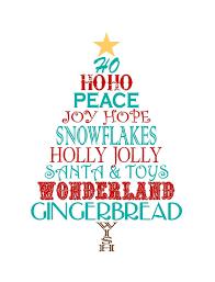 Free Christmas Crafts Ideas Just Devine Style Free Christmas Word Tree Printable Celebratory