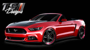 mustang designs mustang widebody sema car by ts designs ford authority