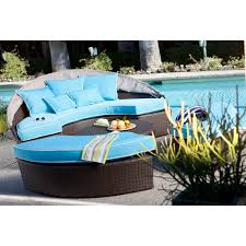 belham living rendezvous all weather wicker sectional daybed