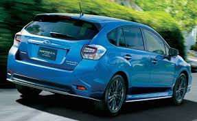 sporty subaru hatchback 2015 subaru impreza sport hybrid introduced in japan