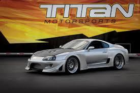 widebody toyota titan motorsports built 1 250whp 1994 toyota supra widebody ground