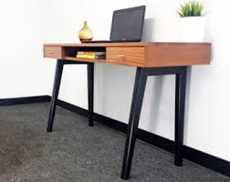 Computer Desk For Sale Philippines Mid Century Modern Desk Danish Modern Executive By Vintadelphia