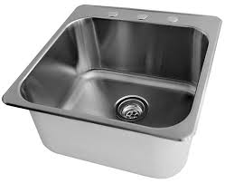 stainless steel laundry sink acri tec 20 x 20 1 2 stainless steel laundry sink the home depot