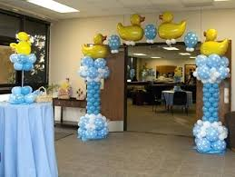 centerpieces for baby showers duck baby shower centerpieces holidayrewards co