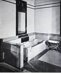 art moderne interiors featuring vitrolite mies van der rohe
